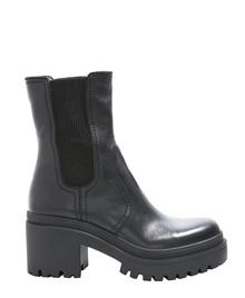 INUOVO - Damestøvle med hæl - Sort