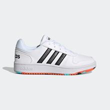 ADIDAS HOOPS 2.0 K - Sneakers - Dame - Hvid