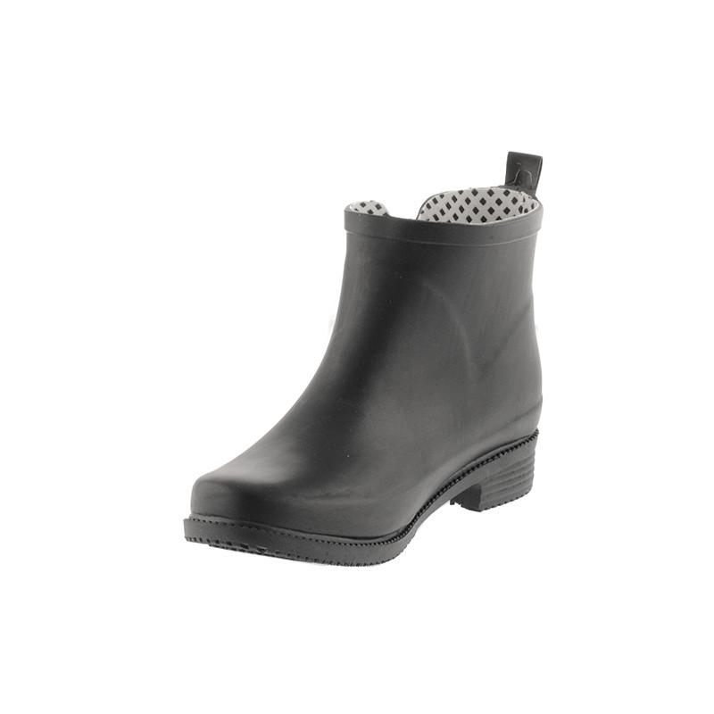 49a22bad8a9 Kort gummistøvle i sort fra Duffy til damer. Køb online her ...