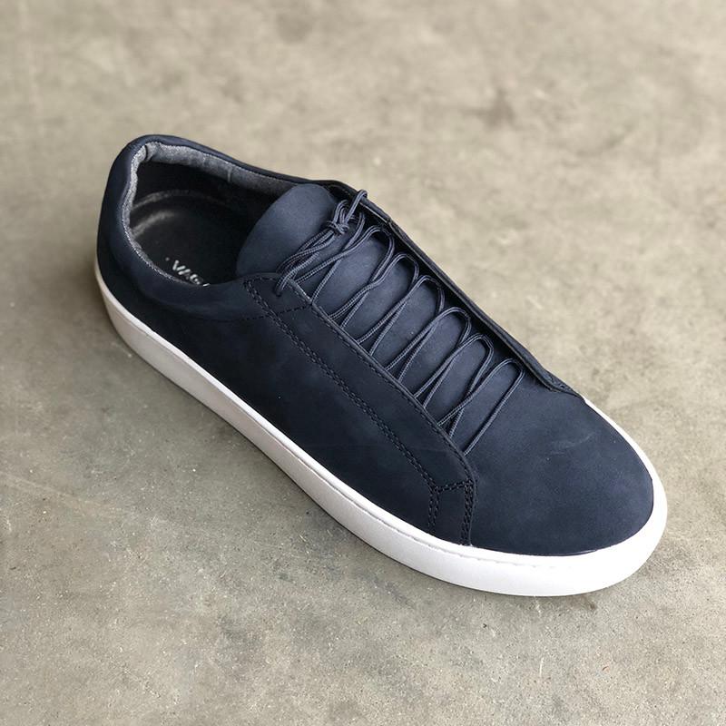 1ccab9d9425 Vagabond Zoe sneakers i ruskind i blå indigo. Køb online her ...