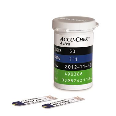 Accu-Chek® Aviva test
