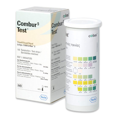 Combur 5 Test. Urinstix,