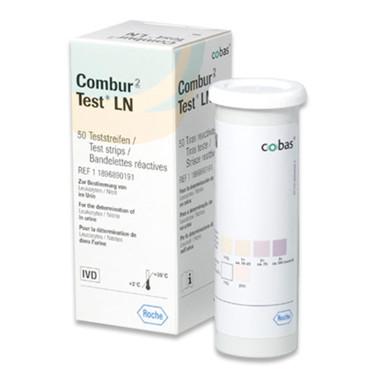 Combur 2 Test LN. Urinstix, 50 stk.