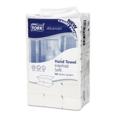 Håndklædeark, Tork Advanced, H2 2-lags