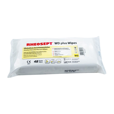 Rheosept-WD Plus Wipes