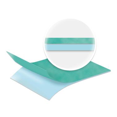 Afdækning 2 lag, 50x75 cm, variabelt hul
