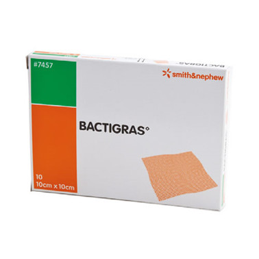 Bactigras® Salvekompress 10x10cm