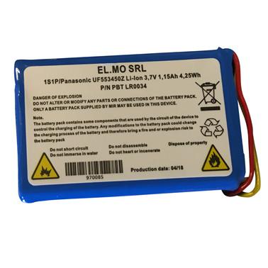 Opl. batteri t/Spirobank II NEW