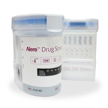Alere™ Multi narkotest 10B testkop