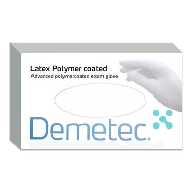 Demetec® Usterile latex handsker pudderfri