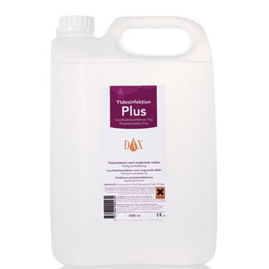 Dax overfladedesinfektion, Plus. 5000 ml
