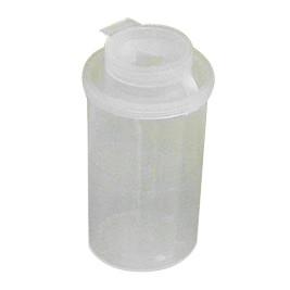 Kanylebeholder gul-transparent, 100cc