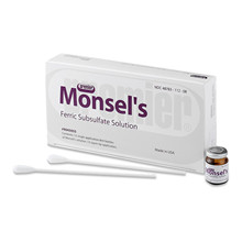 Monsel Ferric subsulfate solut