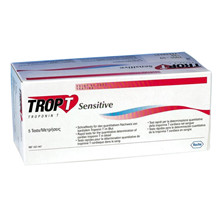 Trop T sensitiv test