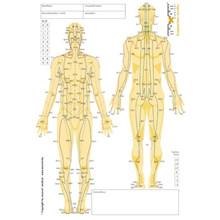 Medianblok til akupunkturnåle