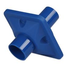 Mundstykker m/bakterie filter blå