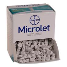 Microlet lancet
