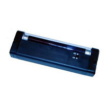 Analyselampe m/batterier