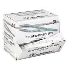 MediWare® Engangspincet, klar plast