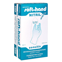 Softhand Nitrilhandske Usteril Large