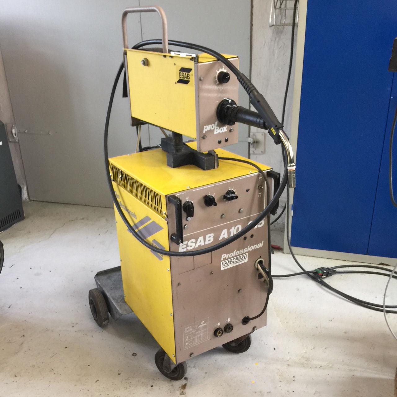 Brugt Esab A10-315 CO-2 anlæg - 315 amp.