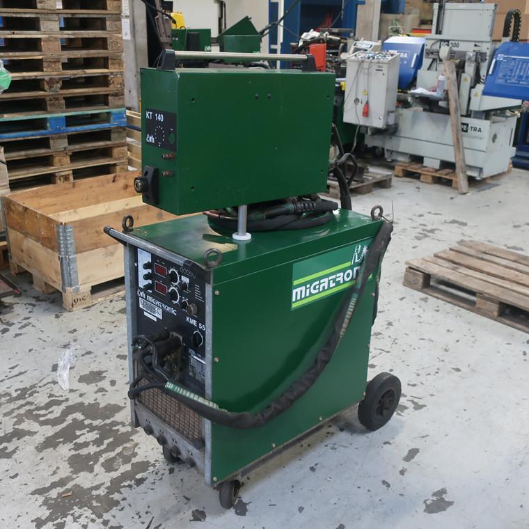 Used Migatronic KME 550 CO-2 welder - 550 amp.