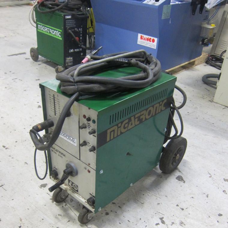 Used Migatronic MDA 200 TIG welder - 200 amp.