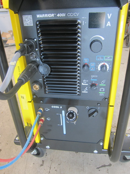 Ny Esab Warrior 400I CC/CV CO-2 anlæg - 400 amp.