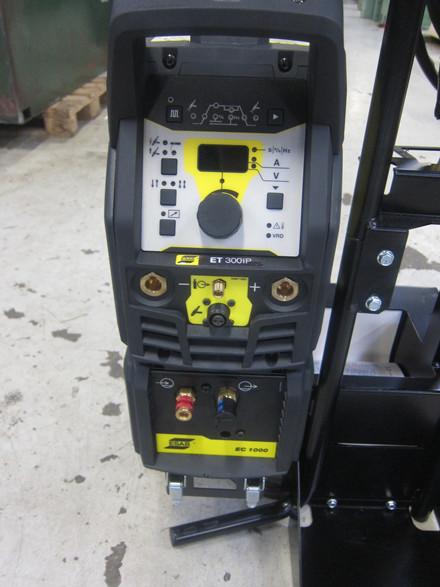 Ny Esab Renegade ET300iP TIG anlæg - 300 amp.