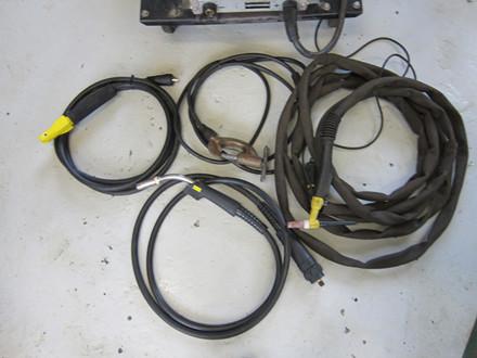 Brugt Esab LUA 400 CO-2/MMA/TIG anlæg - 400 amp.