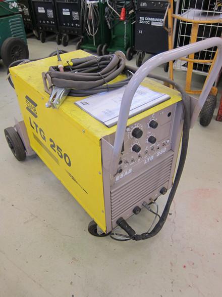 Brugt Esab LTG 250 TIG anlæg - 250 amp.