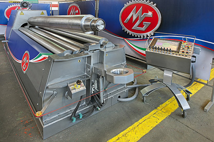 Ny MG M 4-valset hydr. pladevalse.