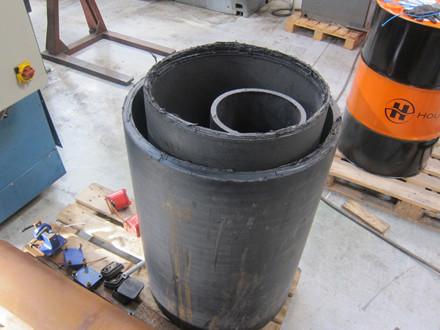 Brugt Kumla Sali Matic 2 hydr. 2-valset pladevalse - 1200 x 3 mm.