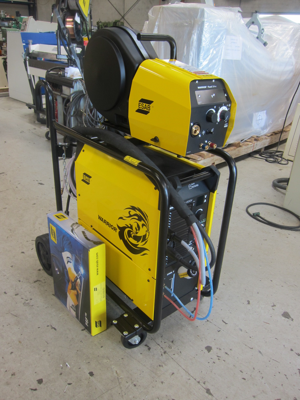ny esab warrior 400i cc  cv co-2 anl u00e6g