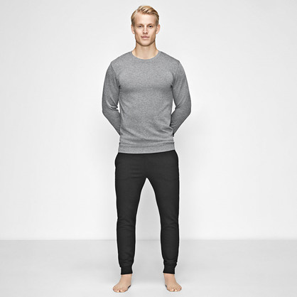 JBS of Denmark, Bambus Sweat Shirt, antrasitt