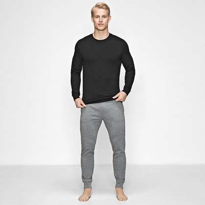 JBS of Denmark, Bambus Sweat Shirt, svart