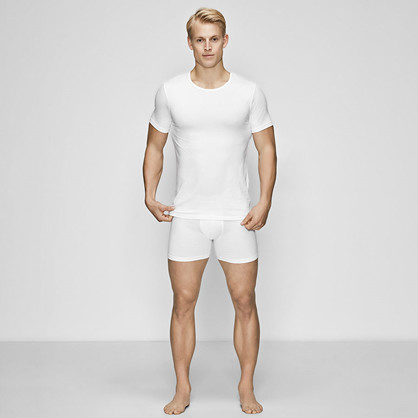 JBS of Denmark O-neck undershirt, hvit