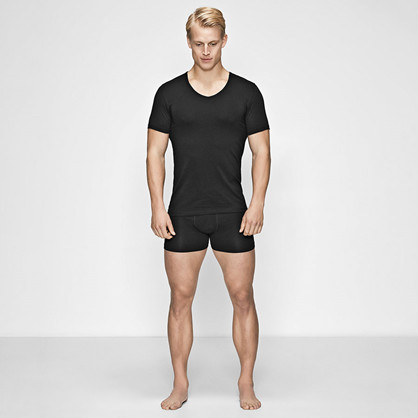JBS of Denmark, v-neck undertrøye, svart