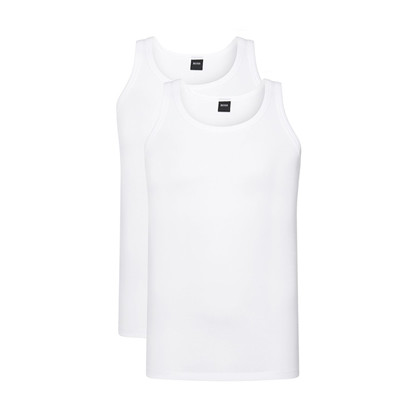 Hugo Boss Tank-Top 2-pack hvit