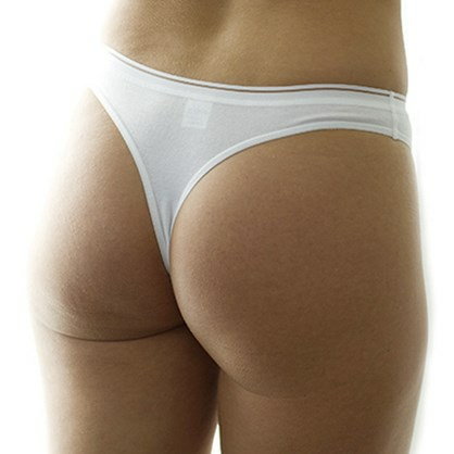 Marathon Woman Thong Hvit