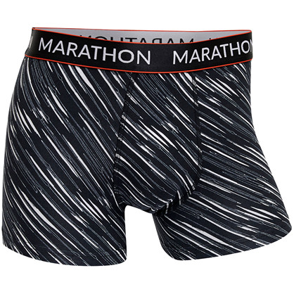 Marathon Function Modal Tights svart og hvitt mønster