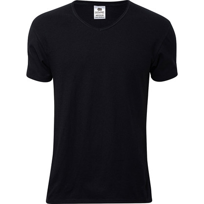 Dovre 651 V-Neck Sort