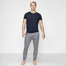 JBS of Denmark, bambus, o-neck tee, navy
