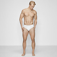 JBS of Denmark, 2-pack briefs, hvit