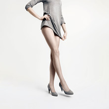 Decoy All Nude tights, powder, 8 denier