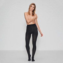 JBS of Denmark tights bomull, mørk grå melange