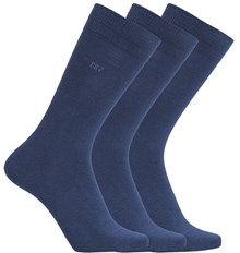 CR7 Basic - Mens Socks 3-pack Navy