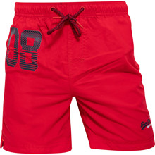 Superdry Waterpolo swimshorts rød