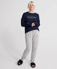 Superdry Lucy Lounge Jogger grå