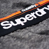Superdry Laundry Jersey Sweatpants grå
